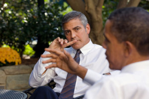 news george clooney white house 131010
