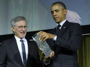 spielberg and obama