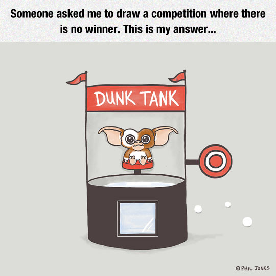 cool-gremlins-competition-dunk-tank