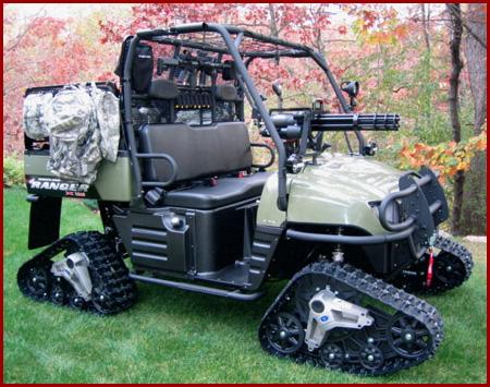 Golf-Cart-With-Mounted-Guns