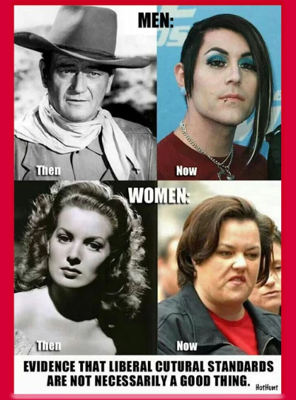 men-women-then-now
