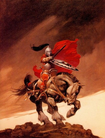Frazetta Outlaw of Torn